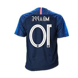 France National Team 10 MBAPPE Home Mens Soccer Jersey Color