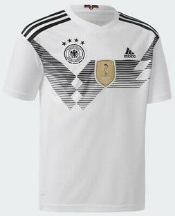 adidas Germany 2018-2019 Youth Home Jersey White/Black