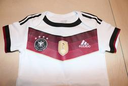 Germany Baby Jersey German Soccer Football Futbol 6-9 Months