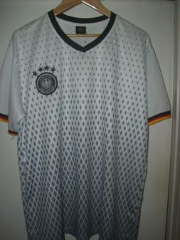GERMANY GERMAN NATIONAL TEAM EMBROIDERED SOCCER JERSEY  ADUL