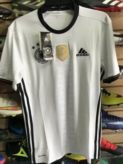 Adidas Germany Home Euro Cup 2016 soccer jersey White Black
