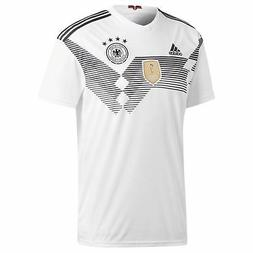 9a6a23da8 adidas Germany Home Jersey 2018 Mens White Black Football So