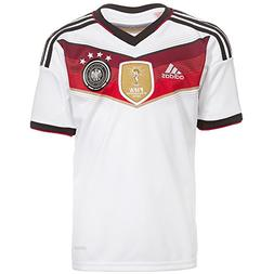 adidas Germany  Home Soccer Jersey , White/Black/Red, Size Y