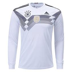 adidas Men's Germany Long Sleeve Home Soccer Jersey Climacoo