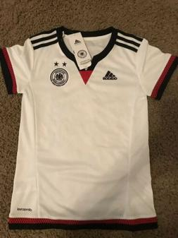Germany Soccer Jersey - Adidas - 2XS - Youth - Womens