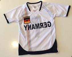 Kids Germany Soccer Jersey and Shorts
