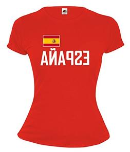 buXsbaum Girlie T-Shirt Spain-XS-Red-