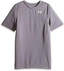 Under Armour Boys' Golazo Soccer Jersey, Graphite /White, Yo