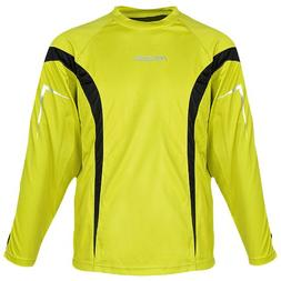 Reusch Adult Gomar Goalkeeper Jersey, Canary Yellow/Black, L
