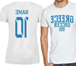 Greece T-shirt Soccer Jersey any Sports Add Any Name and Num