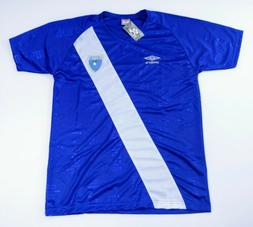 Guatemala FIFA Blue Umbro Soccer Jersey Mens Large New with