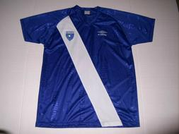 Guatemala National Team, Blue Umbro Soccer Jersey - Adult Me