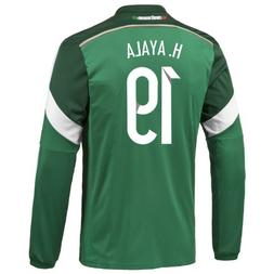 Adidas H. AYALA #19 Mexico Home Jersey World Cup 2014