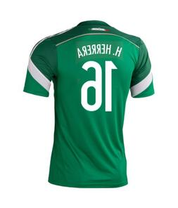Adidas H. HERRERA #16 Mexico Home Jersey World Cup 2014 YOUT