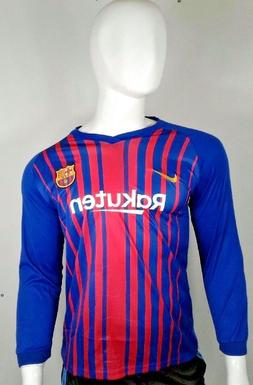 Haisheng Brand Messi Soccer Jersey Long Sleeves with Nike lo