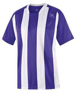 Xara Highbury Shirt, Purple/White - Youth Medium