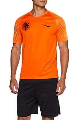 NIKE 2018-2019 Holland Home Football Shirt,Orange,Small
