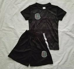 Infant Mexico Soccer Team Set Jersey and Shorts Baby Jersey