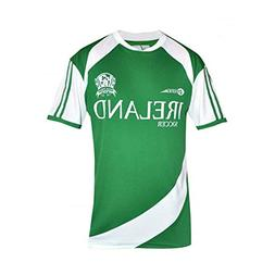 Croker Ireland Soccer Shirt, Green, S