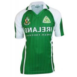Ireland Sublimated Football jersey Green & White M