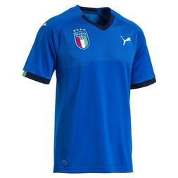 PUMA ITALY OFFICIAL FIGC HOME SOCCER JERSEY ITALIA MEN'S T-S