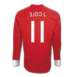 Umbro J. COLE #11 England Away Jersey Long Sleeve