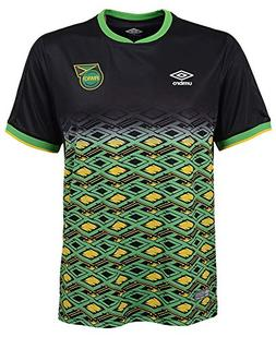 Umbro Jamaica 18/19 Youth/Junior Away Jersey Black