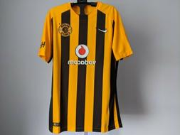 Nike Kaizer Chiefs Home Yellow/Black Player Issue Match Socc