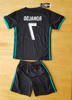 Climalite Kids Real Madrid Ronaldo 7 Soccer Jersey and Short
