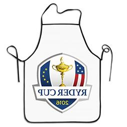 RyderCup Logo Kitchen Apron Personalized Chef Aprons