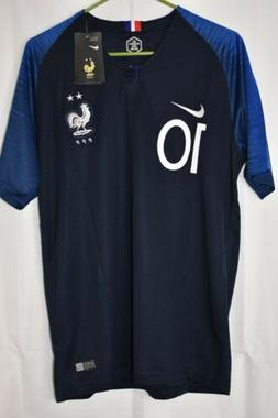 Nike KYLIAN MBAPPE France Football Soccer Jersey Men NWT #10
