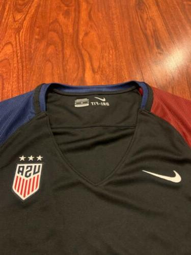 2016-17 Women's States Away Stadium Soccer Jersey USA US