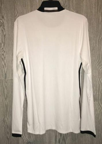 ADIDAS 2016 White Long Sleeve Soccer Jersey Mens S M L