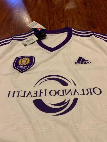 2016 Adidas City Soccer Jersey Large L US