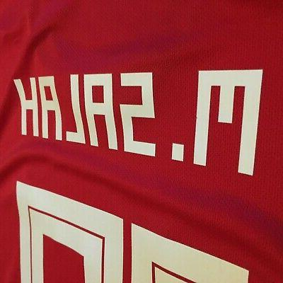 2018 Home Jersey #10 Mohamed Adidas Cup Soccer NEW