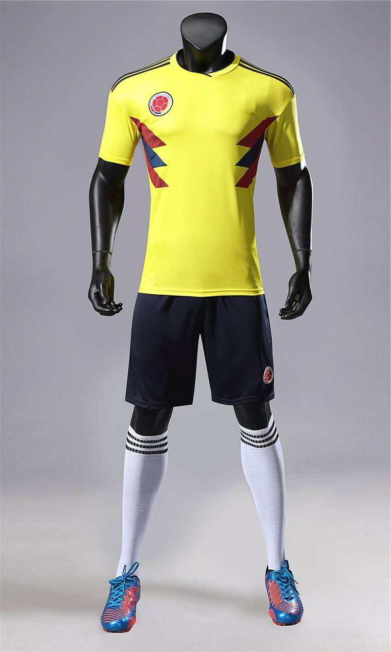2018 Russia World Cup Soccer for Men's Football Team Jersey