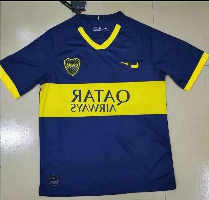 new style 42c9a 1f037 2019-2020 Boca Juniors Soccer Jersey Football Short sleeve Shirt Size:S-XXL
