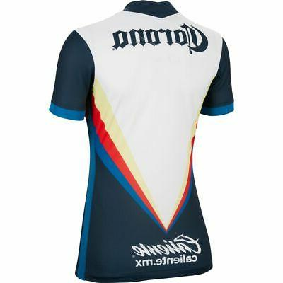 Away WOMENS Jersey Navy-White