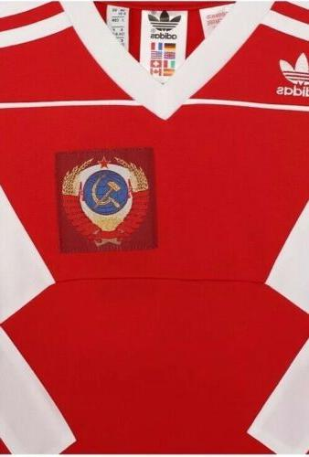 $60 Russia Jersey Shirt LARGE CD8040 Soccer