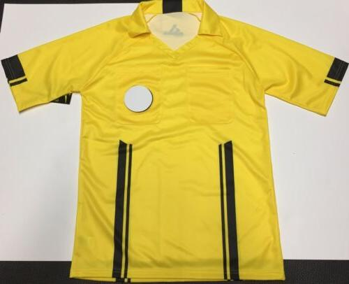 adult referee jersey soccer football size small
