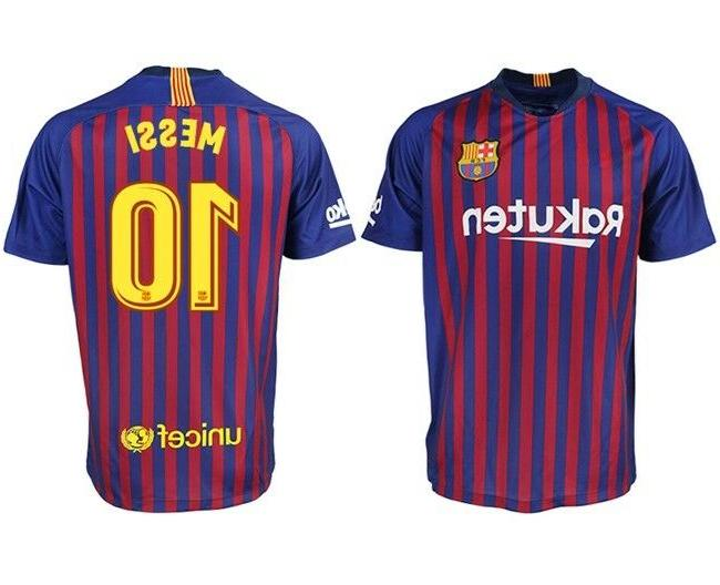 barcelona messi 10 home new season soccer