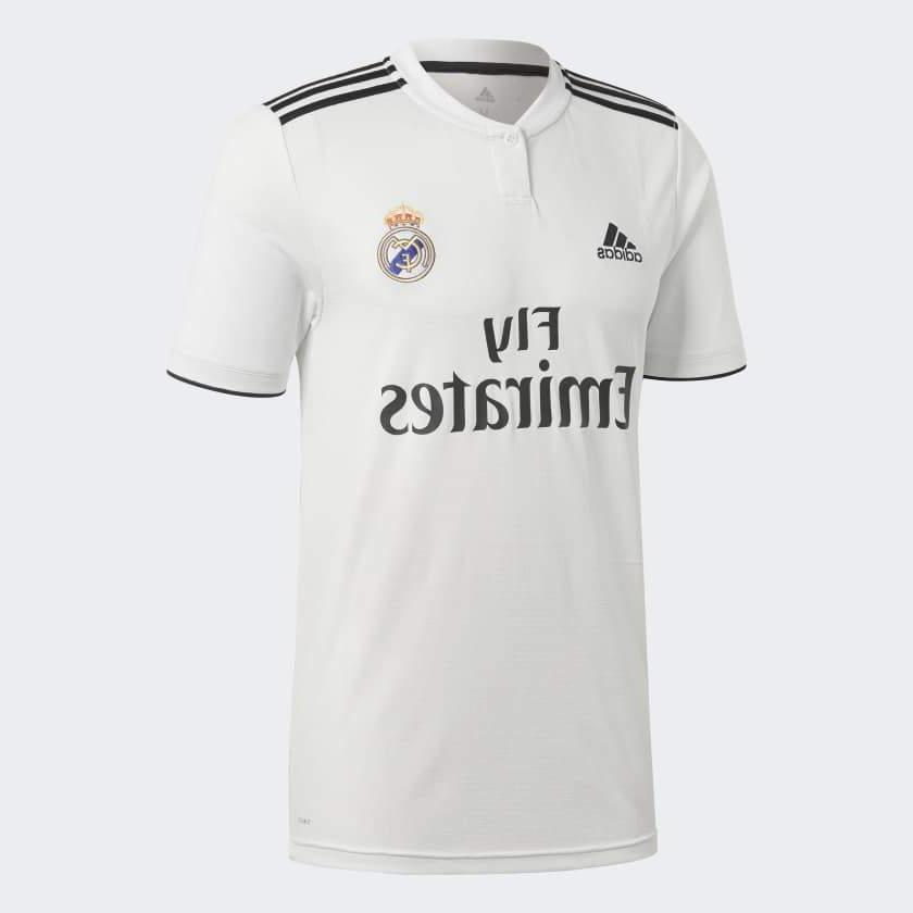 brand new real madrid home soccer jersey