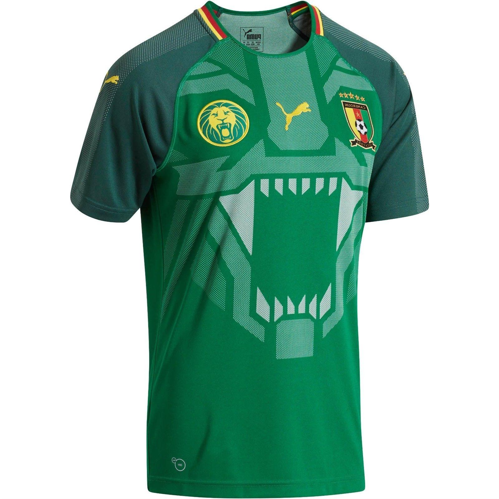 cameroon home replica jersey wc 2018 752342