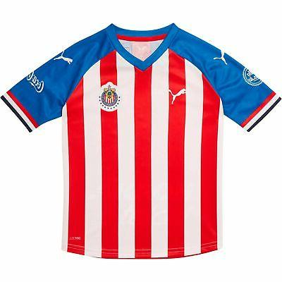 Chivas Puma Youth Home Jersey Red