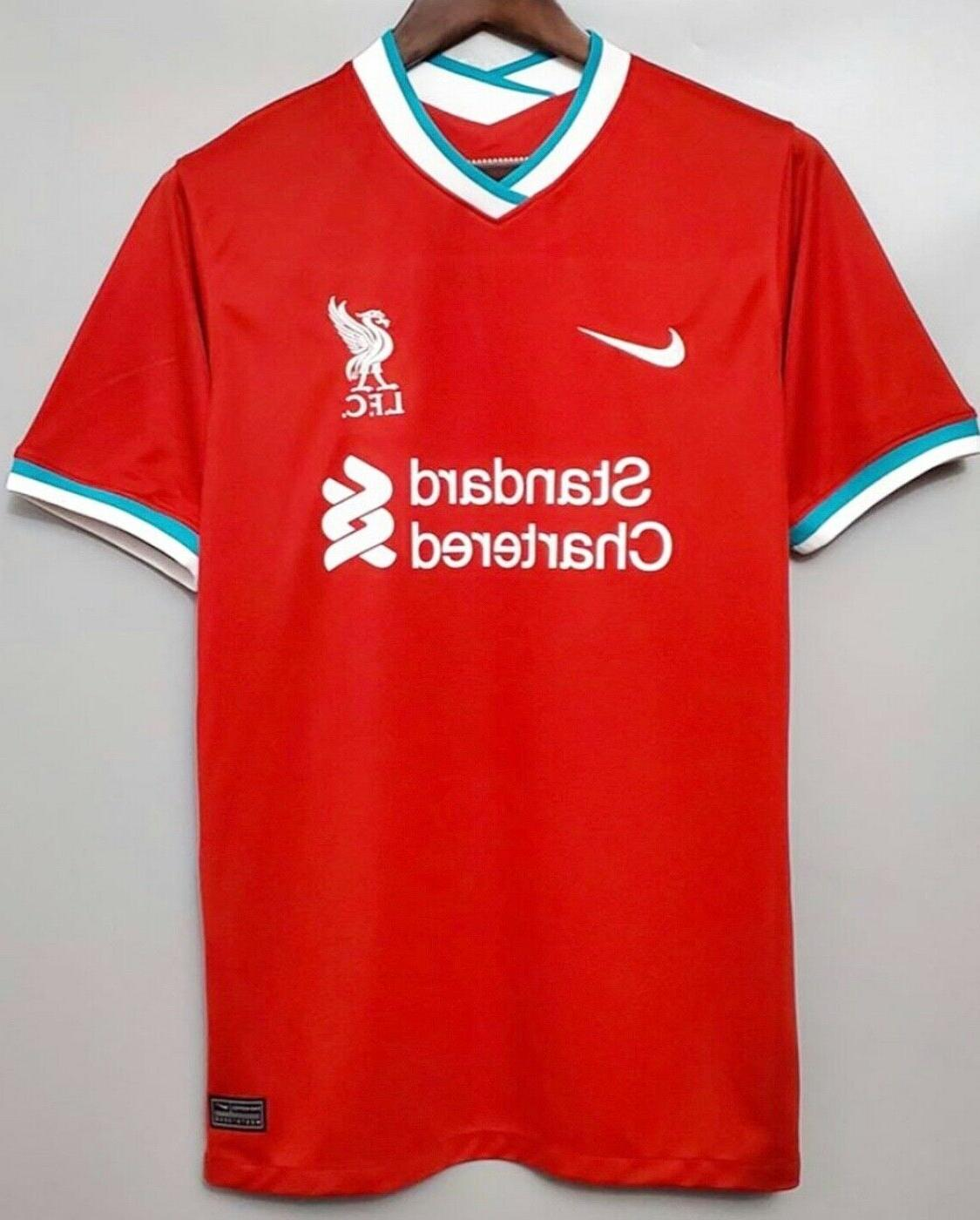 clearance liverpool home soccer jersey 2020 2021