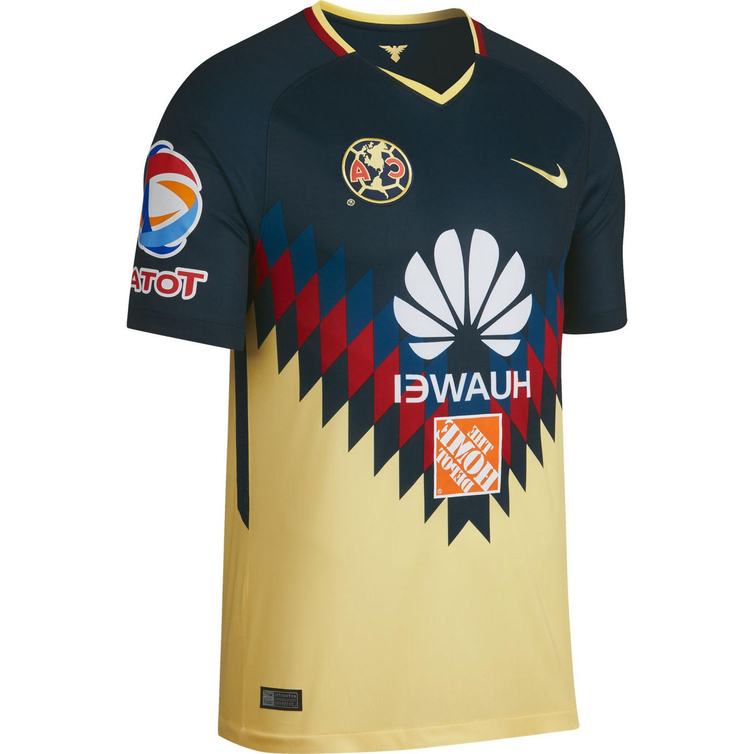 club america home authentic soccer jersey 17