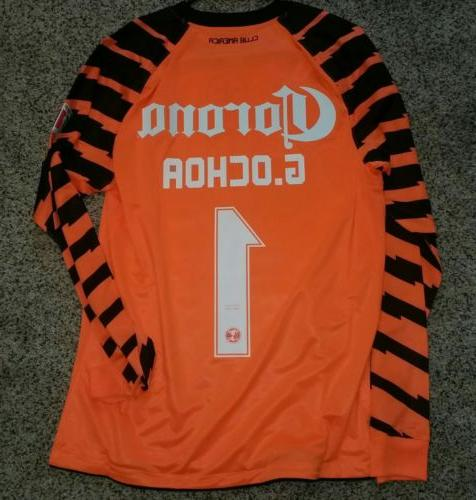 uk availability b0add f22f3 CLUB AMERICA JERSEY, GOALKEEPER MEMO OCHOA