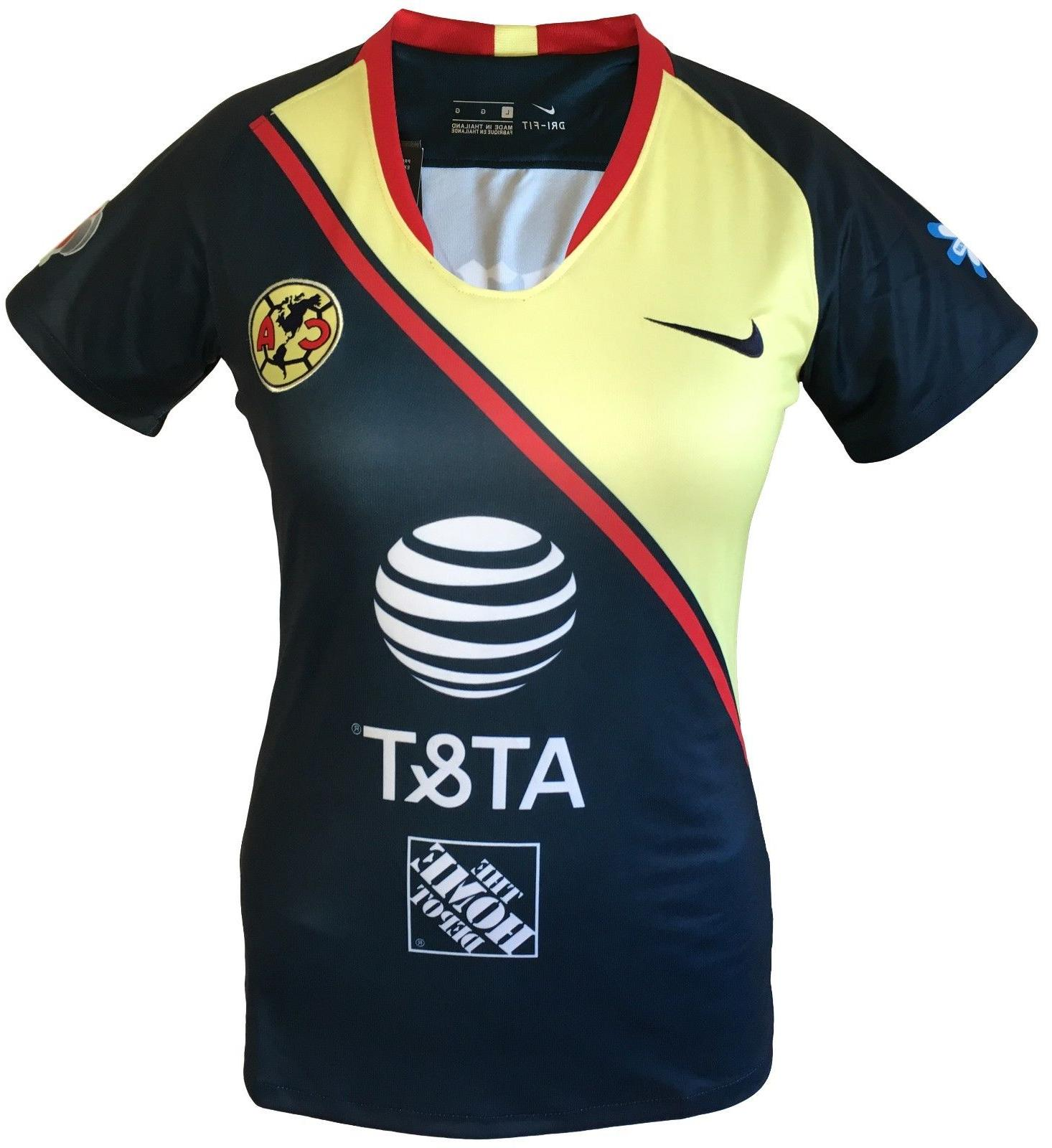 Club America Women Soccer Jersey 2019 All Sizes