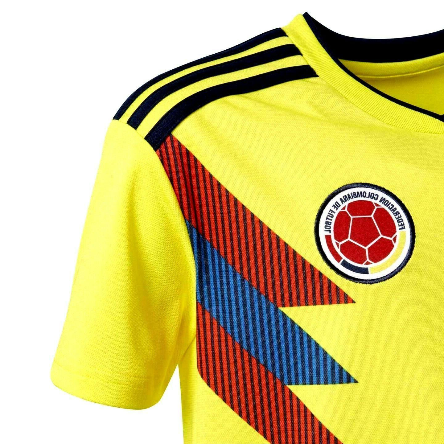 ADIDAS COLOMBIA Football Soccer M L Boys Youth
