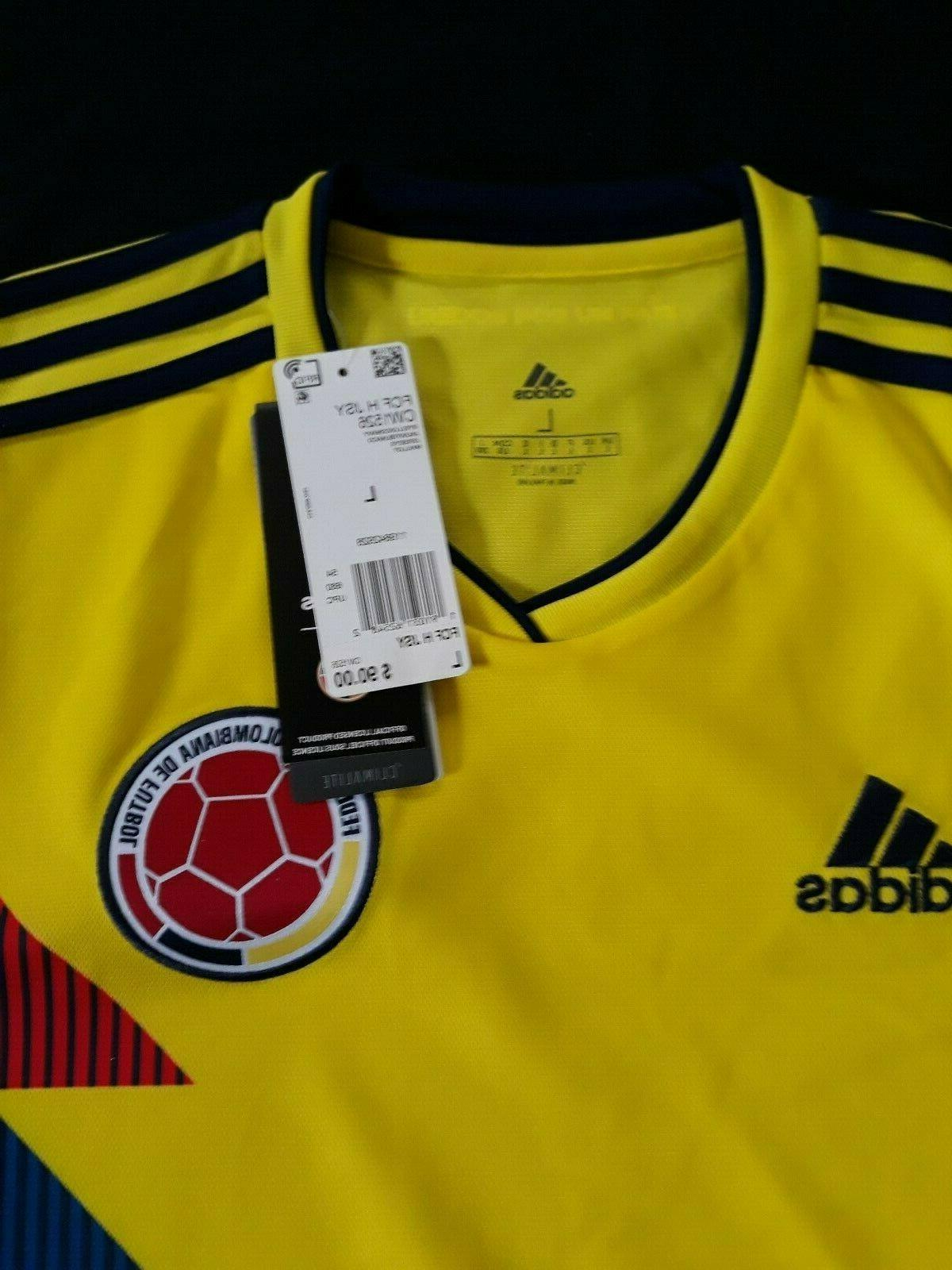 Colombia Adidas Home Model Retail Tags